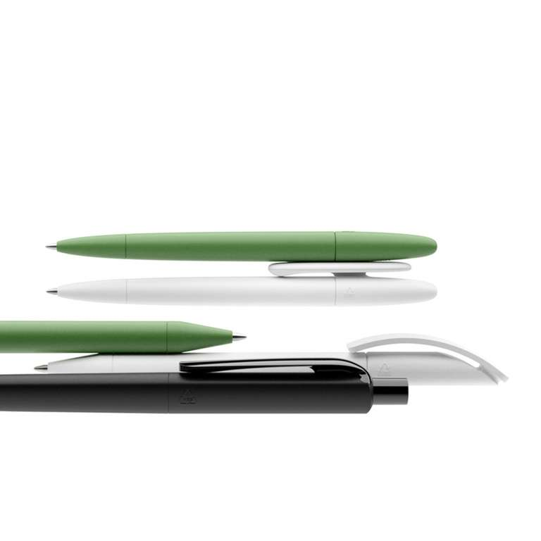 prodir pens with logo eco regenerated