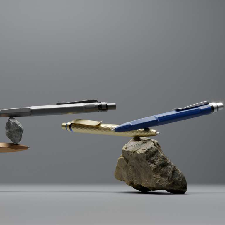 prodir pens with logo eco stone